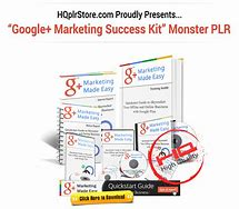 """G+ Marketing Success Kit"" Downsell Download"