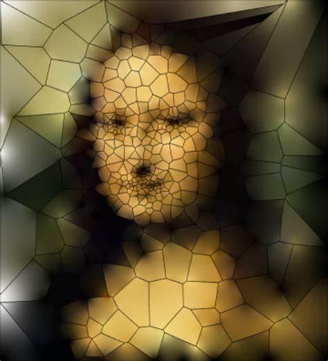 Colorize Voronoi Diagram Template