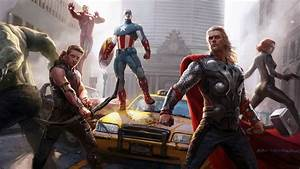 The, Avengers, Concept, Art, Wallpapers