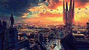 Wallpaper, Futuristic, Future, World, 4k, Art, 20319