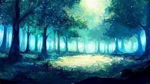 Download, Forest, Fantasy, Tree, Artwork, Anime, Wallpaper, 1920x1080, Full, Hd, Hdtv, Fhd, 1080p