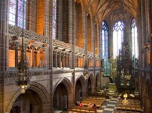 Liverpool, Cathedral, -, Church, In, Liverpool