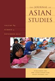 Image result for journal of asian studies