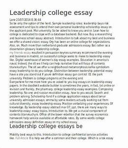 Leadership essays examples essay on police corruption leadership