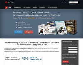 12590+ Digital PLR Products For Rebrand Download