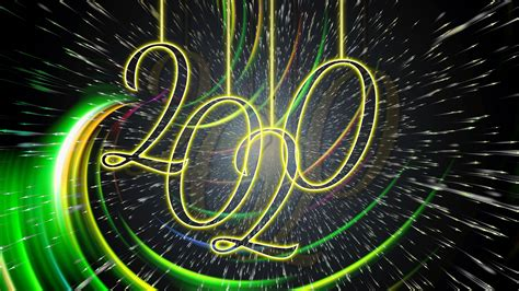 2020艺术字创意新年电脑桌面壁纸图片_桌面壁纸_mm4000图片大全