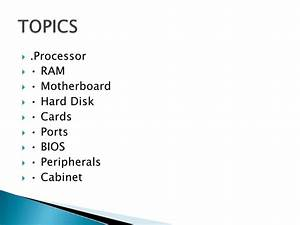list of interesting topics
