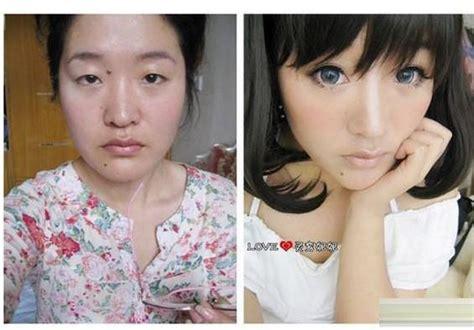 网络美女卸妆前后大比拼,化妆后人人都是明星 - 每日头条