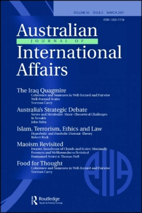 Image result for australian journal of international affairs
