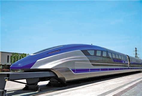 我国时速600公里高速磁浮试验样车下线_中国经济网——国家经济 ...