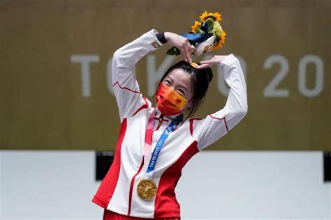 东京奥运会中国第一金
