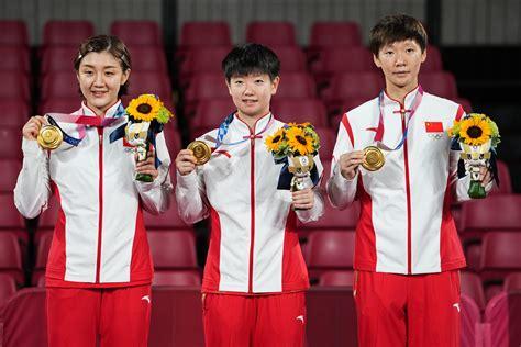 东京奥运会中国队金牌