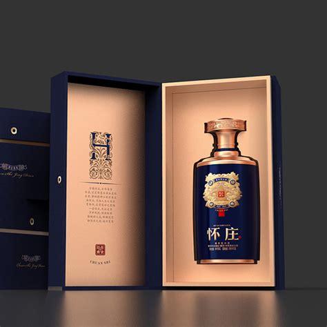 书本盒白酒包装图片