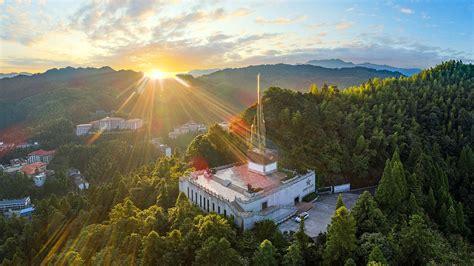井冈山标志性景观图片