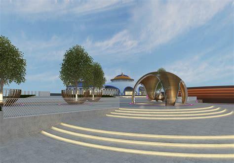 内蒙古广场设计