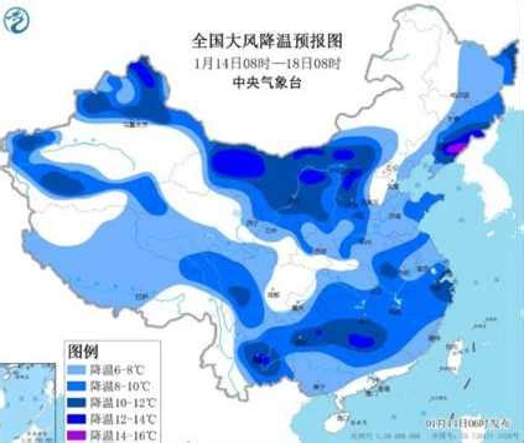 南方气温将开启速降模式