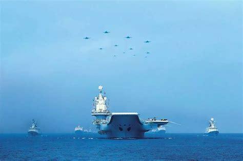 南海海域海上阅兵
