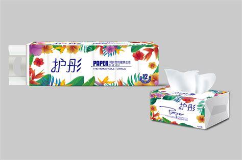 卫生纸外包装设计