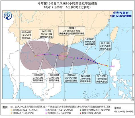 台风实时路径