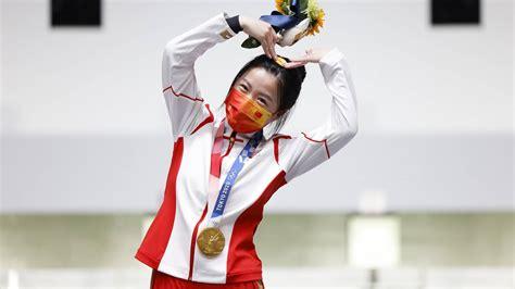 奥运冠军杨倩微博主页