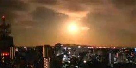 巨大火球深夜划过日本上空