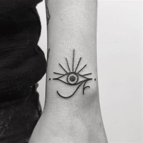 恶魔之眼纹身