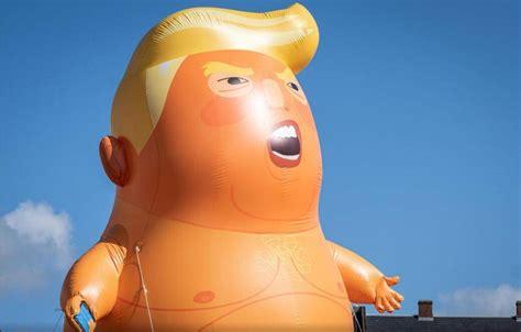 特朗普宝宝气球将安家伦敦博物馆