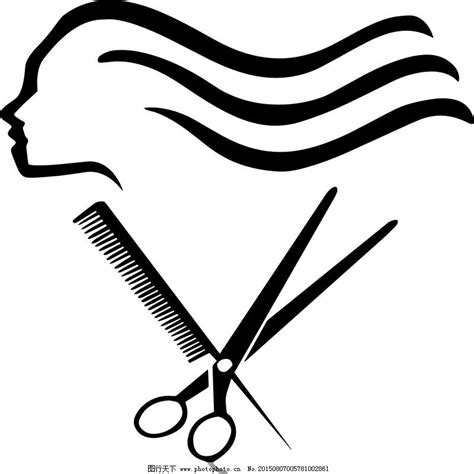 理发店logo