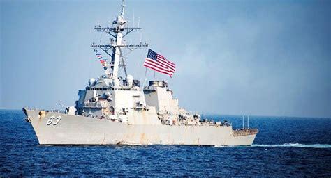 美驱逐舰再度穿越台湾海峡