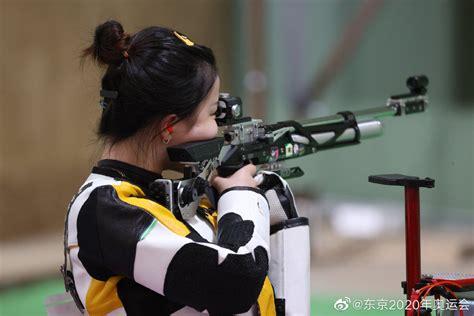 运动员杨倩微博