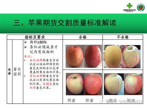 郑州商品交易所苹果交割质量标准