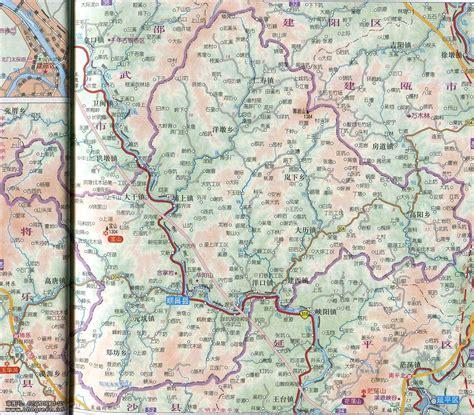 顺昌县城区地图