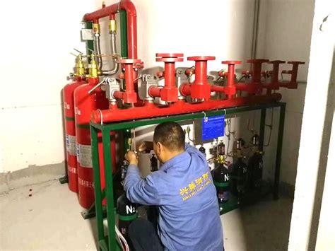 预置式七氟丙烷灭火设备检测