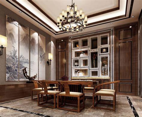 餐厅新中式装修风格