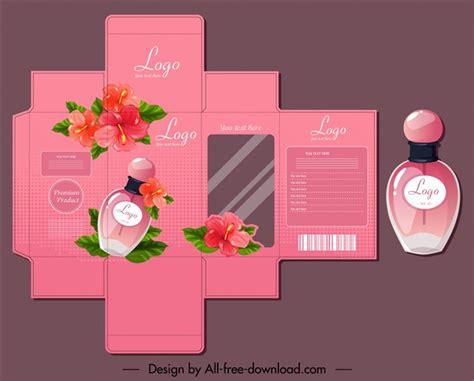 香水包装设计展开图