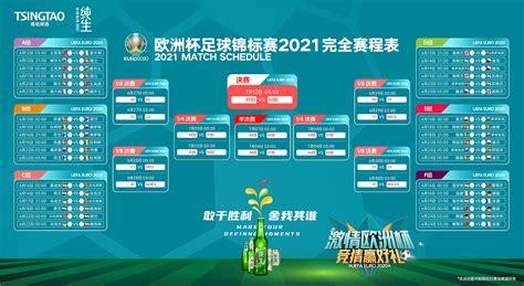 2020欧洲杯完整赛程