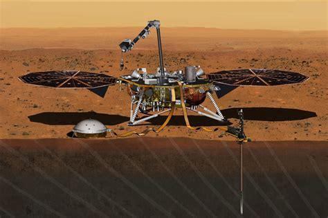 nasa洞察号火星探测器